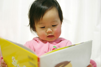 Baby you are reading Stock photo [1212938] Baby