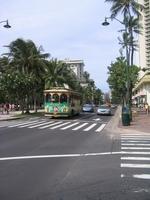 Hawaii Oahu Honolulu street corner Stock photo [1214709] Hawaii