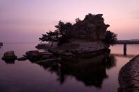 Dawn of painting Island Stock photo [1215342] Eshima