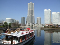 Sightseeing boat Stock photo [1218105] Yokohama