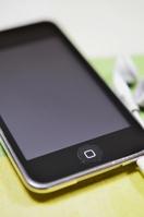 Smartphone and earphone Stock photo [1218376] Smartphone