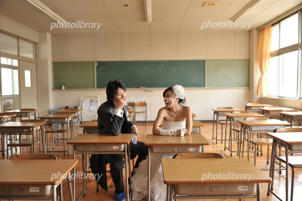 Wedding in the classroom Photo