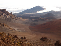 Haleakala Crater Stock photo [1292180] Hawaii