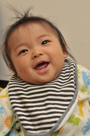 baby 6 months old to smile Stock photo [1292341] Baby