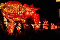 Tonami high festival night Stock photo [1295571] high