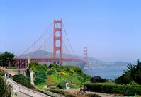 Golden Gate Bridge Stock photo [1301198] Golden