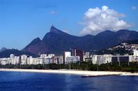 Hill of Brazil Rio de Janeiro Corcovado Stock photo [1301967] Brazil