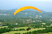 Paragliding Stock photo [1304012] Paragliding