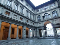 Uffizi Gallery Stock photo [1304032] Italy