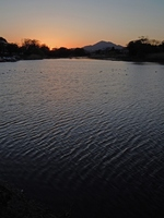 Sunset and ripples Stock photo [1306419] Japan