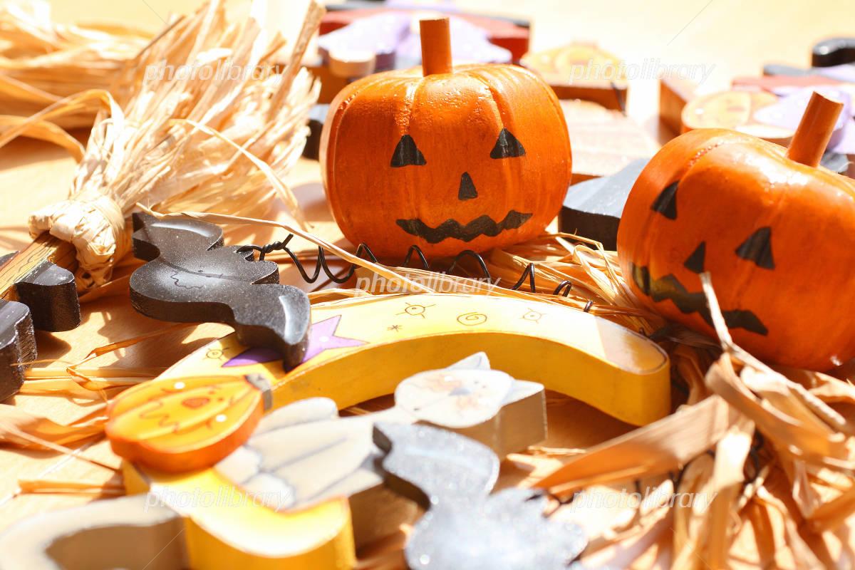 Halloween objects pumpkin Photo