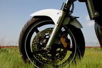 Front wheel of the bike Stock photo [1392939] Wheels