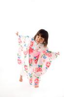 Children dancing wearing a yukata Stock photo [1393663] Kids