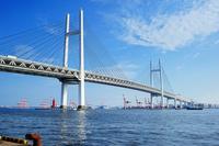 Yokohama Bay Bridge Stock photo [1394683] Yokohama