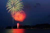 Kamakura fireworks Stock photo [1396661] Summer