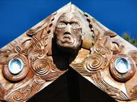 Maori carving Stock photo [43401] New