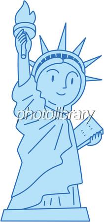 自由の女神 イラスト素材 1482057 フォトライブラリー Photolibrary