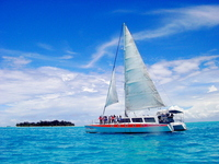 Ma単agaha and yacht Stock photo [1481145] Saipan