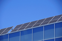 Solar panels installed on the roof Stock photo [1482120] Captive