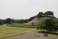 Maruhakayama tumulus Stock photo [1482178] Saitama