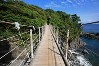 Jogasaki of Hashidate suspension bridge Stock photo [1485385] Hashidate