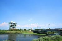View Fukushimagata and Fukushimagata tailrace Stock photo [1488970] Fukushimagata