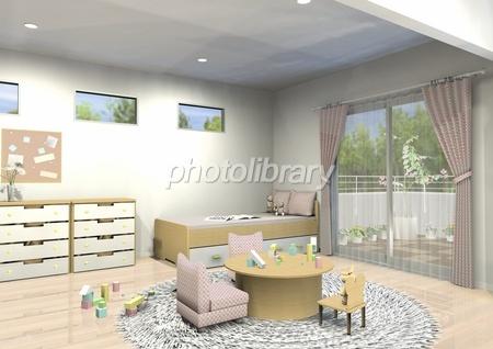 女の子の部屋 イラスト素材 1585489 フォトライブラリー Photolibrary