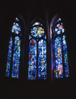 Stained glass of Chagall Stock photo [1584997] Stained-glass