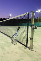 Tennis courts and tennis racket Stock photo [1585802] Tennis