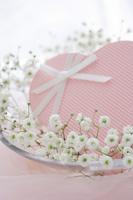 Pink Heart gift Stock photo [1587940] Flower