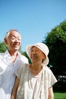 Lively joyful senior couple Stock photo [1588808] Husband