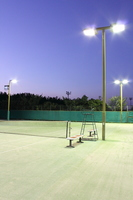 Night game Tennis Stock photo [1591539] Tennis