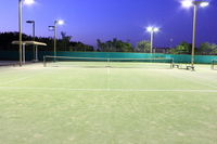 Night game Tennis Stock photo [1591579] Tennis