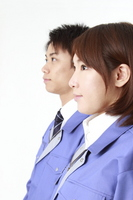 Work clothes, men and women Stock photo [1595899] Person