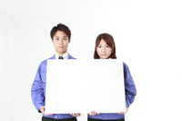 Work clothes, men and women Stock photo [1595883] Person