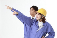 Work clothes, men and women Stock photo [1595905] Person