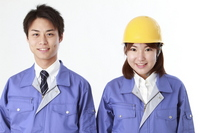 Work clothes, men and women Stock photo [1595890] Person