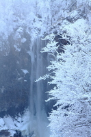 Waterfall of severe winter of Kegon Stock photo [1596024] Sunlight