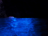 Blue visible location cave water surface of Okinawa blue Stock photo [1686165] Okinawa