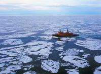 Arctic ice floe icebreaker Stock photo [1686582] Landscape
