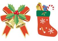 Christmas Bell and socks [1689581] Christmas