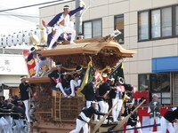 Danjiri festival before lever Stock photo [1690481] Danjiri