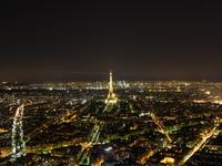 Night view from the Paris-Montparnasse Tower Stock photo [1690721] Beam