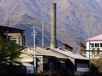 Ashio copper mine old smelter Stock photo [1690783] Ashio
