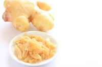 Dry Ginger and new ginger Stock photo [1691161] Ginger