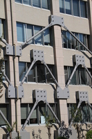 Seismic reinforced building Stock photo [1691903] Saitama