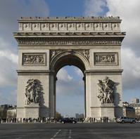France World Heritage Paris Banks of the Seine Arc de Triomphe Stock photo [1692412] World