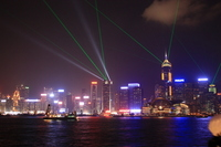Light-up of Hong Kong Island, Hong Kong Stock photo [1693328] China