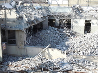 Building demolition Stock photo [1695576] Dismantling