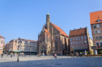 Germany Nuremberg central square Stock photo [1696614] Europe